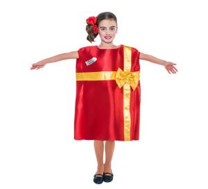 disfraz de regalo