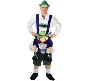 Disfraz Alemán Oktoberfest a hombros